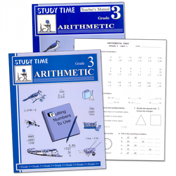 Study Time Arithmetic Set - Grade 3