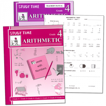 Study Time Arithmetic Set - Grade 4