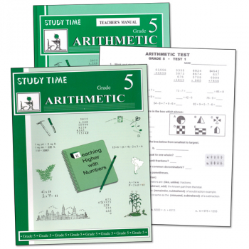 Study Time Arithmetic Set - Grade 5