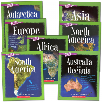 True Books: Continents Package
