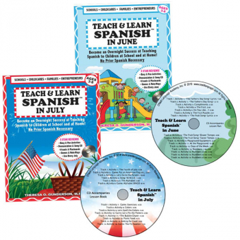Teach & Learn Spanish Book & CD Summer Semester
