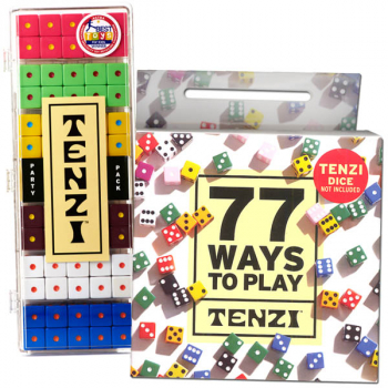 TENZI Party Pack with 77 Ways to Play Tenzi