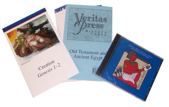 Veritas History Old Testament through Ancient Egypt Homeschool Kit with CD