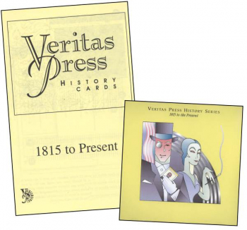 Veritas History 1815 - Present Homeschool Kit with Enhanced CD
