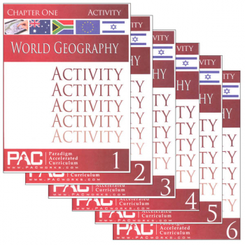 World Geography Activities Package (Chapters 1-6)