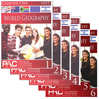 World Geography Text Package (Chapters 1-6)