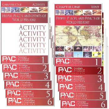 World History Text & Activities Package (Chapters 1-6)