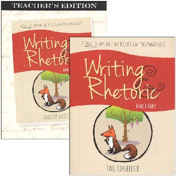 Writing & Rhetoric Bk 1: Fable Stdt/Tchr Pack