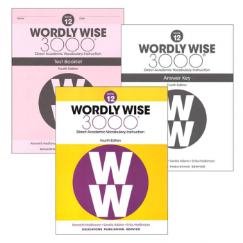 Wordly Wise 3000 4th Edition Book 12 Set