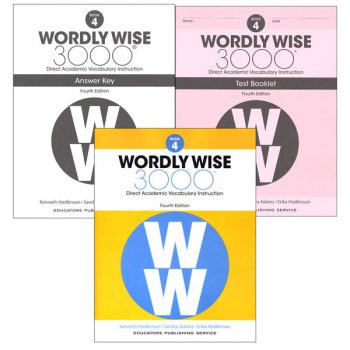 Wordly Wise 3000 4th Edition Book 4 Set