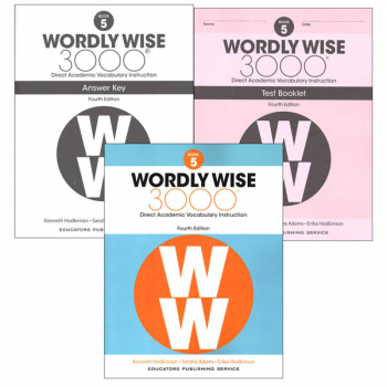 Wordly Wise 3000 4th Edition Book 5 Set