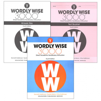 Wordly Wise 3000 4th Edition Book 7 Set