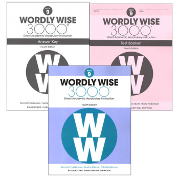 Wordly Wise 3000 4th Edition Book 9 Set